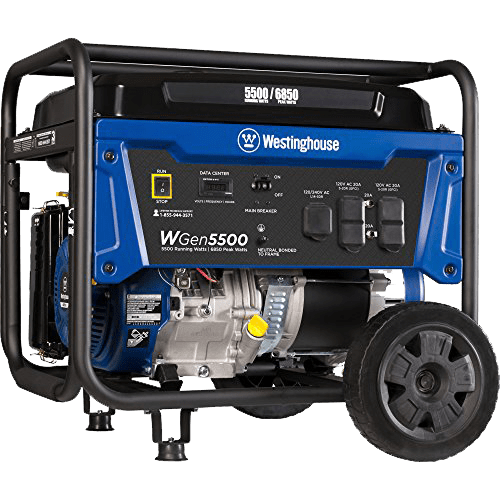 WGen 5500 Portable Generator