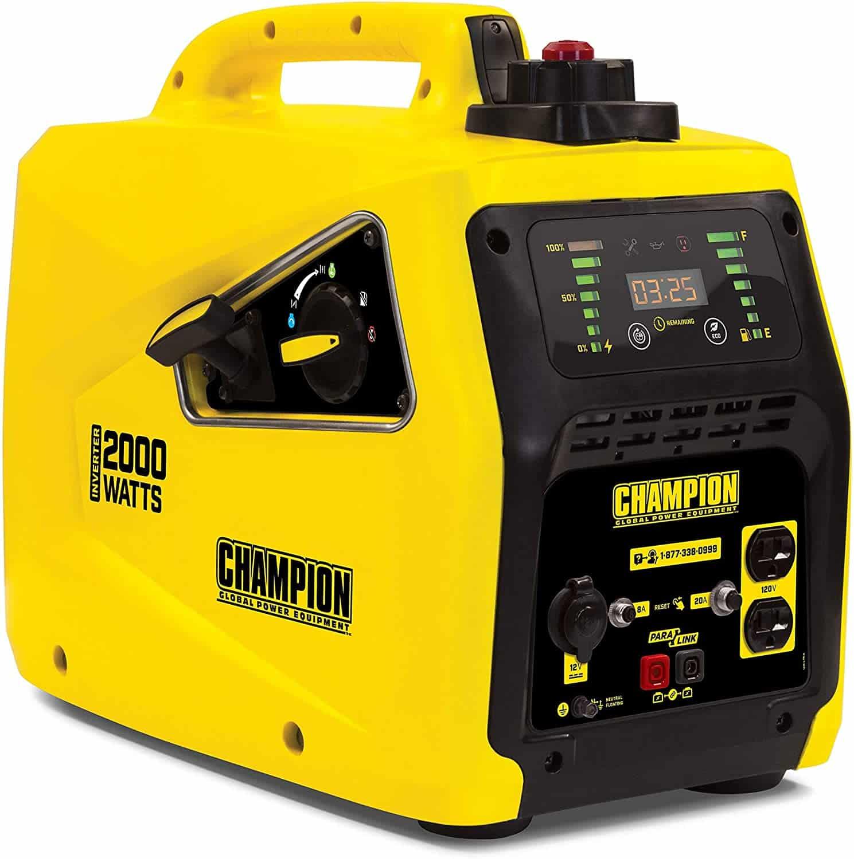 The Champion 2000 watt inverter generator