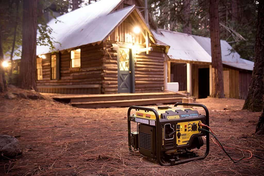 the Champion 4000 watt generator