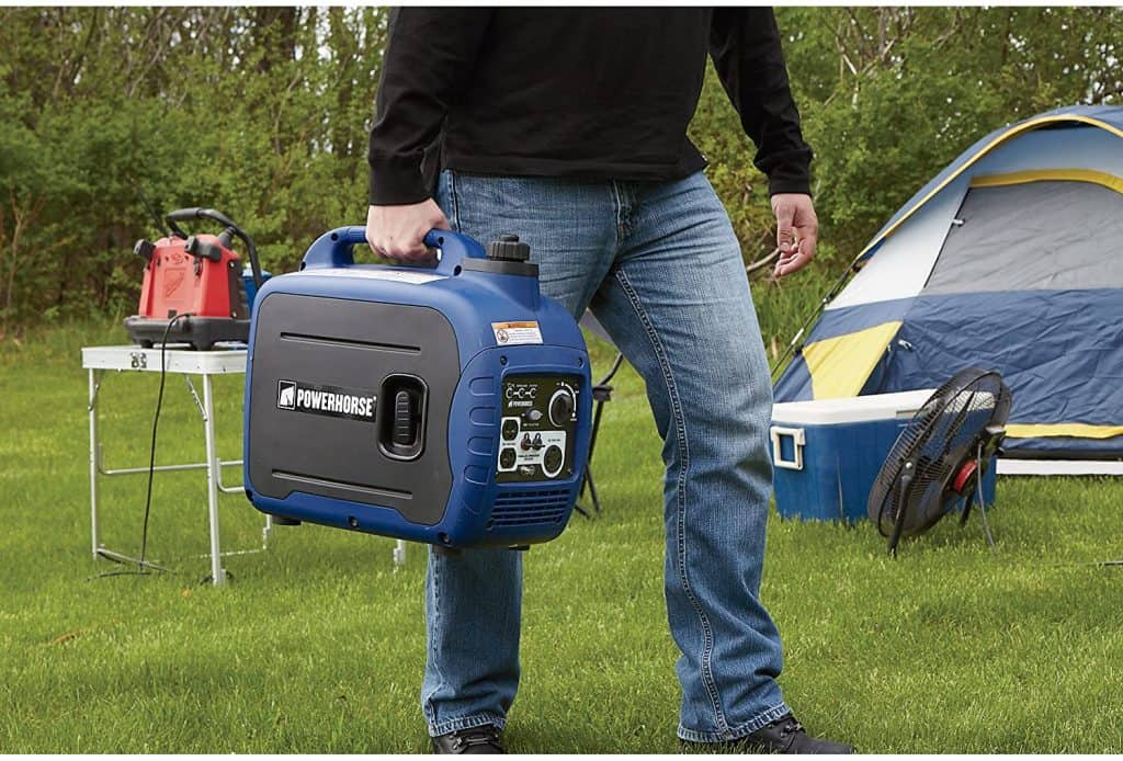 take your favorite 2000 watt generator on your next camping trip