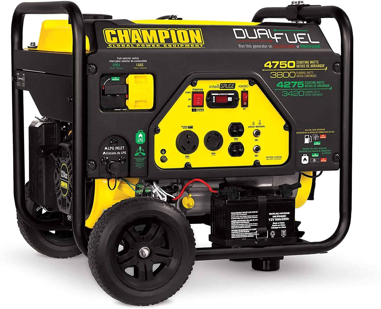 champion 4750 dual fuel portable generator