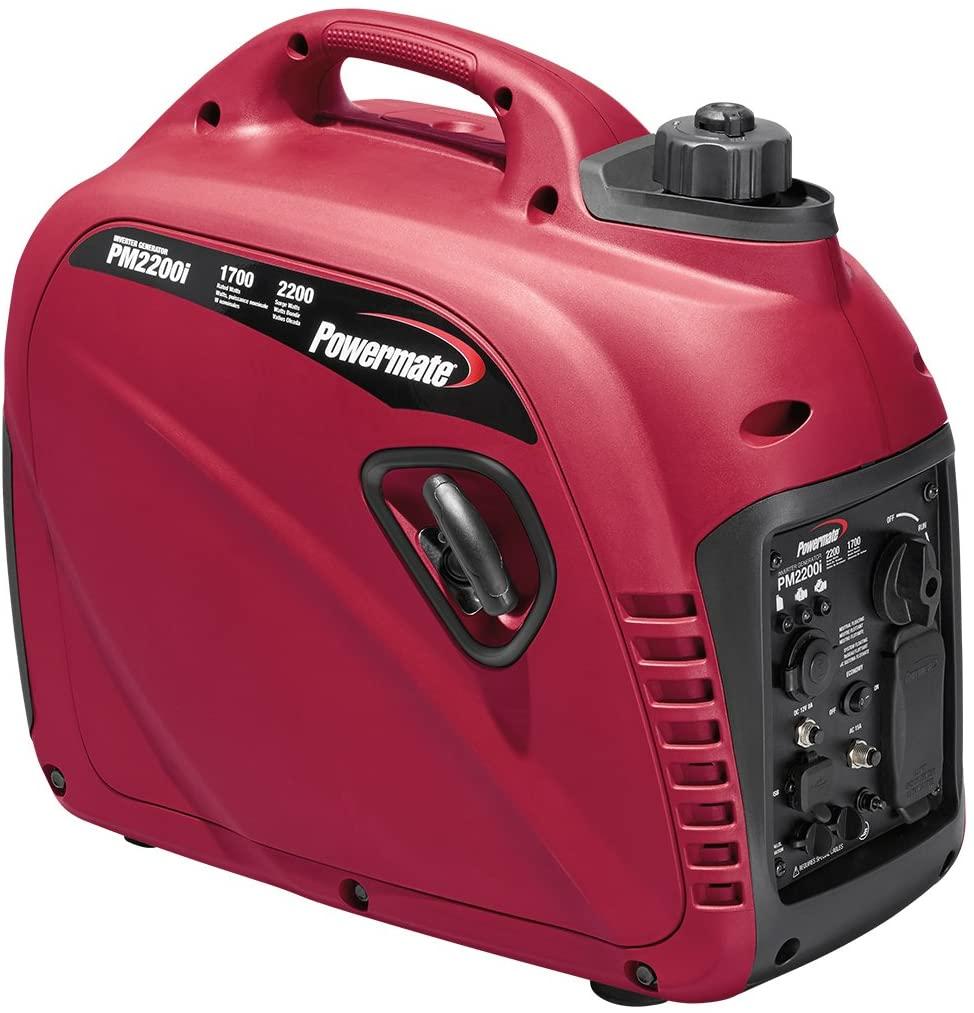 Powermate 2200 watt ultra quiet inverter generator