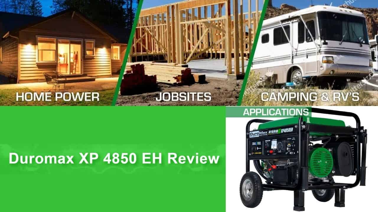 DuroMax XP4850EH Hybrid Dual Fuel Generator Review