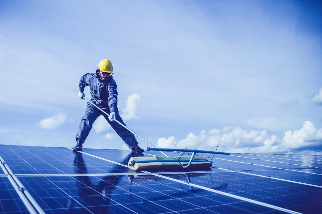 cleaning Solar Panels for the Home